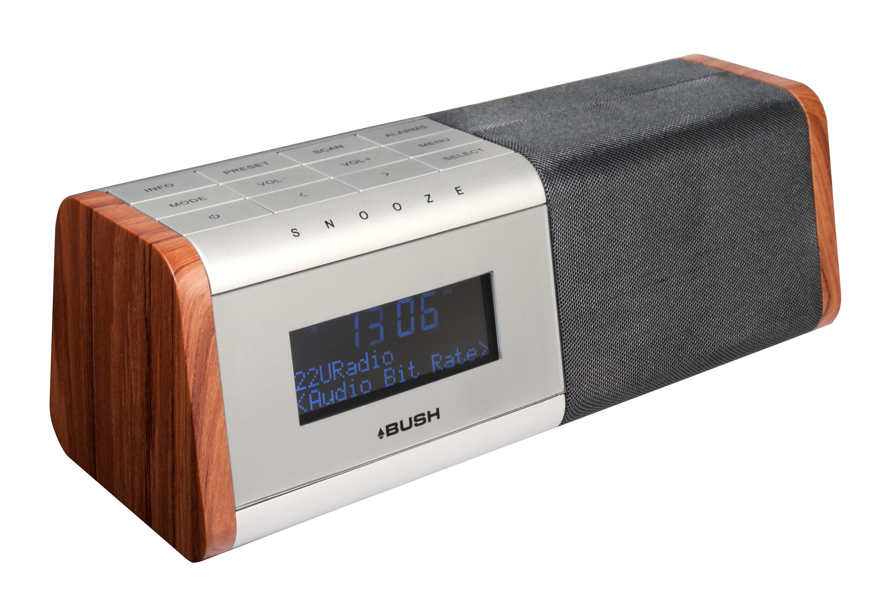 wake up to crystal clear digital sound with new bush dab radios. Black Bedroom Furniture Sets. Home Design Ideas